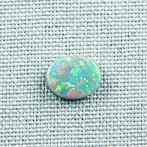 1,43 ct Black Crystal Opal 10,02 x 7,98 x 2,72
