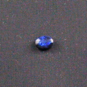 0.83 ct Black Opal gemstone 7.26 x 4.95 x 3.48 mm