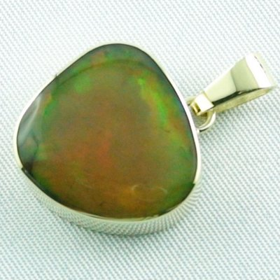 6.47 gr. Gold pendant with 12.39 ct Welo Opal, pic2
