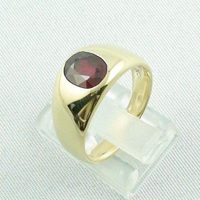12,80 gr rubyring, 18k goldring, ladies ring with ruby, pic3