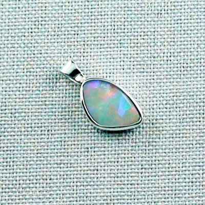 3.76 gr Silver Necklace with Opal-Pendant, White Opal, pic6