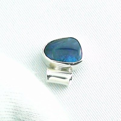 1,36 gr opalpendant, silver pendant 925 with black opal 1,66 ct, pic4
