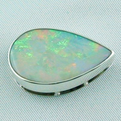 9.02 gr.  opalpendant, silver pendant 935, olympic field White Opal, pic1