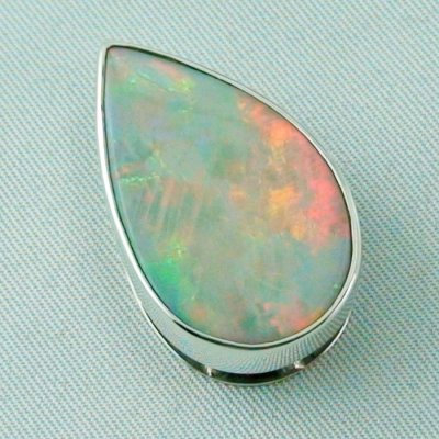 9.02 gr.  opalpendant, silver pendant 935, olympic field White Opal, pic5