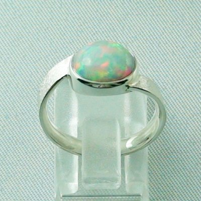 3.87 gr opalring, silverring with Welo opal 1.69 ct, ladies ring, pic4
