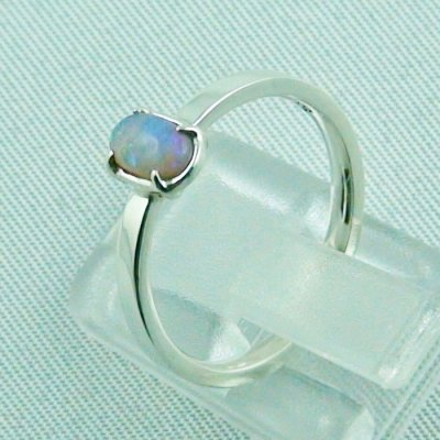 Opalring, designer ring, 0.39 ct Top Black Crystal Opal, pic3