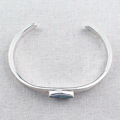 27.02 gr bangle silver 935 with Boulder opal 3.26 ct, pic7