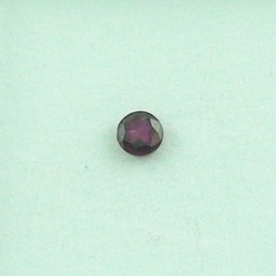 0.41 ct ruby blood red gemstone 3.88 x 2.76 mm, pic1