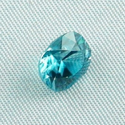 3.66 ct zircon gemstone jewelry stone 8.92 x 7.98 x 5.78 mm, pic6