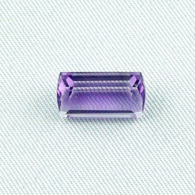 3.64 ct Amethyst gemstone jewelry stone 12.45 x 6.84 x 5.57 mm, pic1