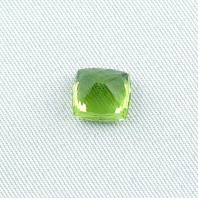 3.23 ct peridot gemstone jewelry stone 8.47 x 8.16 x 5.89 mm, pic5