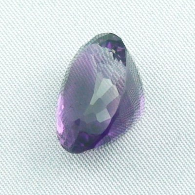 18.48 ct Amethyst gemstone jewelry stone 19.42 x 14.98 x 12.10 mm, pic2