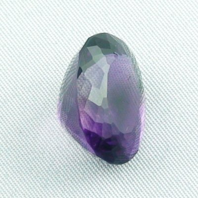 18.48 ct Amethyst gemstone jewelry stone 19.42 x 14.98 x 12.10 mm, pic4