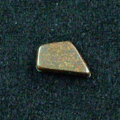 shining 1.68 ct boulder opal gemstone 12.53 x 7.78 x 2.44 mm, pic7