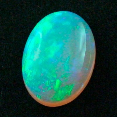 16.27 ct Black Crystal Opal gemstone 22.15 x 16.25 x 7.31 mm, pic3