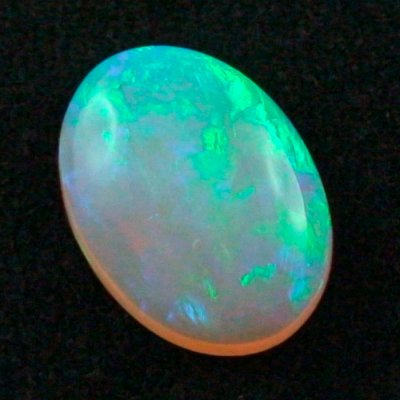 16.27 ct Black Crystal Opal gemstone 22.15 x 16.25 x 7.31 mm, pic5