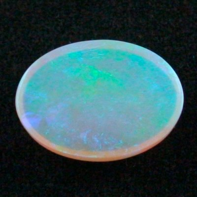 16.27 ct Black Crystal Opal gemstone 22.15 x 16.25 x 7.31 mm, pic7
