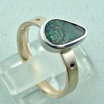 opalring, 8k goldring 4.83 gr. with opal, boulder opal 1.91 ct, pic5