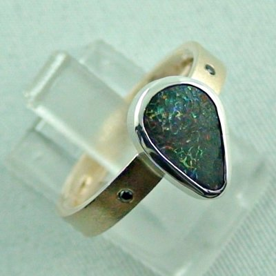 opalring, 8k goldring 4.83 gr. with opal, boulder opal 1.91 ct, pic6