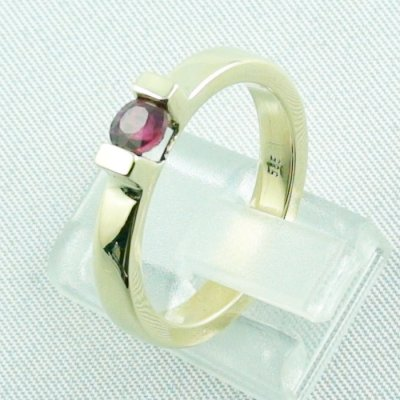 Rubyring, 7.16 gr. goldring with ruby 585 / 14k yellow gold, ladies ring, pic3