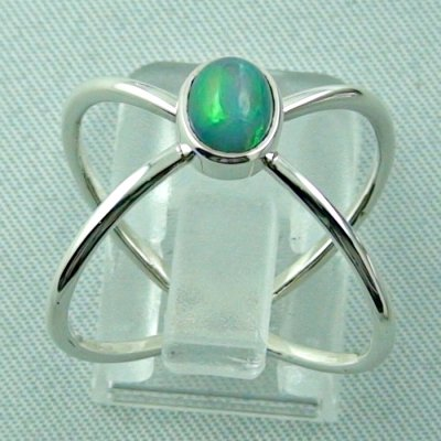 Ladies ring, opalring, 2.86 gr silverring with Welo opal 0.82 ct, pic4