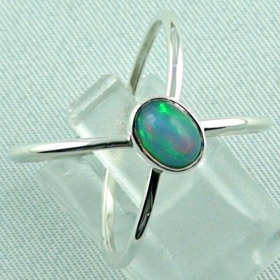 Ladies ring, opalring, 2.86 gr silverring with Welo opal 0.82 ct, pic6