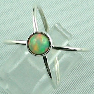 opalring, ladies ring, 2.69 gr silverring with Welo opal 0.78 ct, pic2