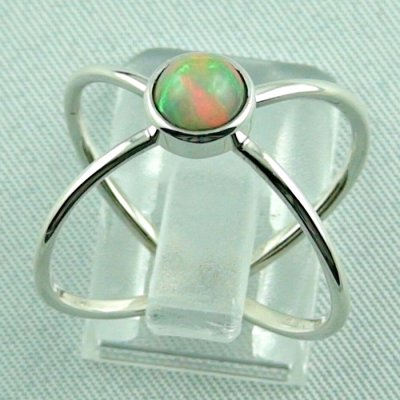 opalring, ladies ring, 2.69 gr silverring with Welo opal 0.78 ct, pic4