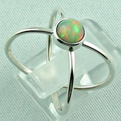opalring, ladies ring, 2.69 gr silverring with Welo opal 0.78 ct, pic5