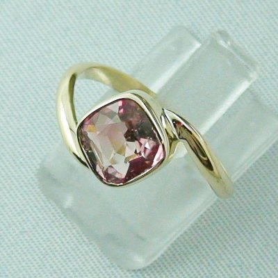 3.19 gr tourmalinering, 14k goldring, ladies ring with tourmaline 1.95 ct, pic2