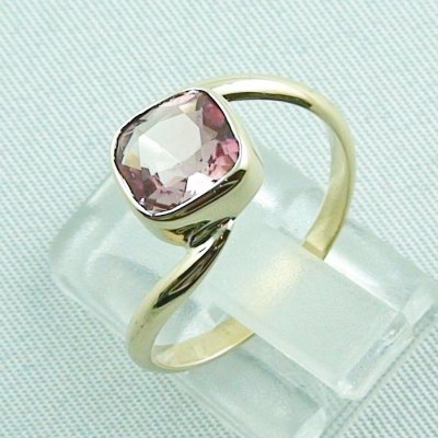 3.19 gr tourmalinering, 14k goldring, ladies ring with tourmaline 1.95 ct, pic3