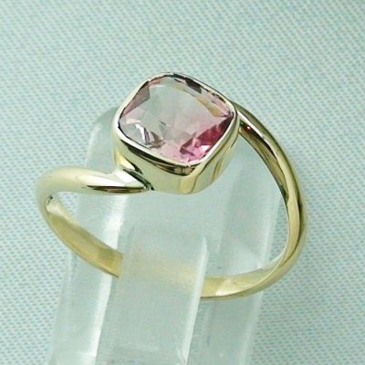 3.19 gr tourmalinering, 14k goldring, ladies ring with tourmaline 1.95 ct, pic4