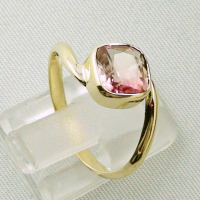 3.19 gr tourmalinering, 14k goldring, ladies ring with tourmaline 1.95 ct, pic5