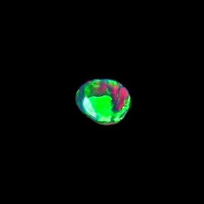 0.48 ct Black Opal gemstone 7.29 x 5.87 x 1.86 mm, pic1