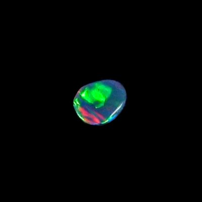 0.48 ct Black Opal gemstone 7.29 x 5.87 x 1.86 mm, pic4