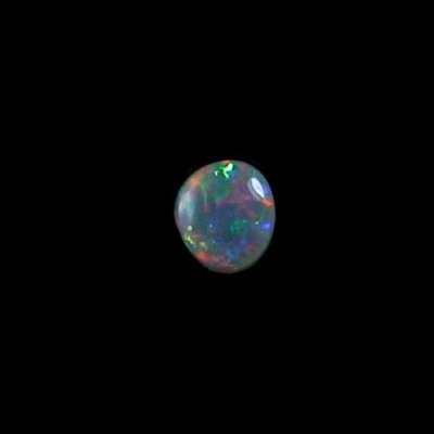 0,70 ct Black Crystal Opal Edelstein 7,10 x 6,35 x 2,68 mm, Bild 5