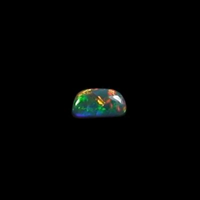 0.69 ct Semi Black Opal gemstone 7.48 x 4.00 x 2.90 mm, pic1