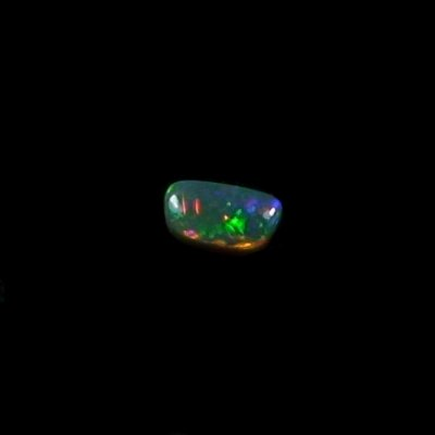 0.69 ct Semi Black Opal gemstone 7.48 x 4.00 x 2.90 mm, pic4
