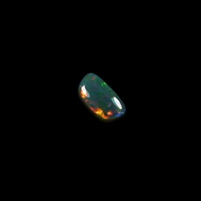 0.69 ct Semi Black Opal gemstone 7.48 x 4.00 x 2.90 mm, pic5